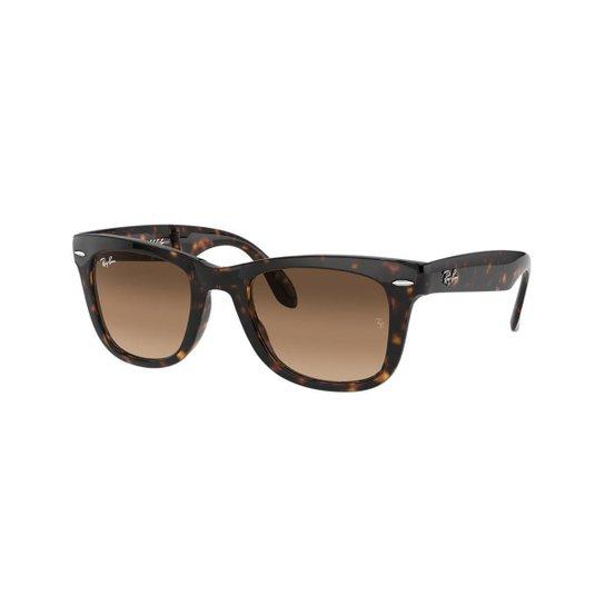Óculos de Sol Ray-Ban RB4105 Original Wayfarer Dobrável - Compre ... 709c759662