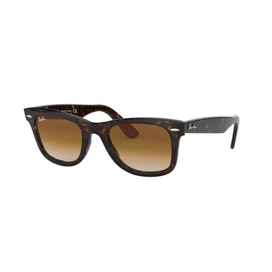 5b988de65 Óculos de Sol Ray-Ban RB2140 Original Wayfarer Clássico - Marrom ...