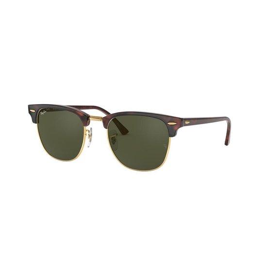 Óculos de Sol Ray-Ban RB3016 Clubmaster Clássico - Compre Agora ... 39f6757470