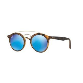 b5224ae5d Óculos de Sol Ray-Ban RB4256 Gatsby Redondo