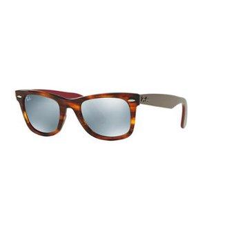 2d8e512cf Óculos de Sol Ray-Ban RB2140 Original Wayfarer Bicolor