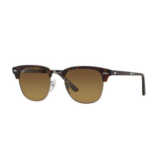 f21f90f8f66f1 Óculos de Sol Ray-Ban RB2176 Clubmaster Dobrável - Compre Agora ...
