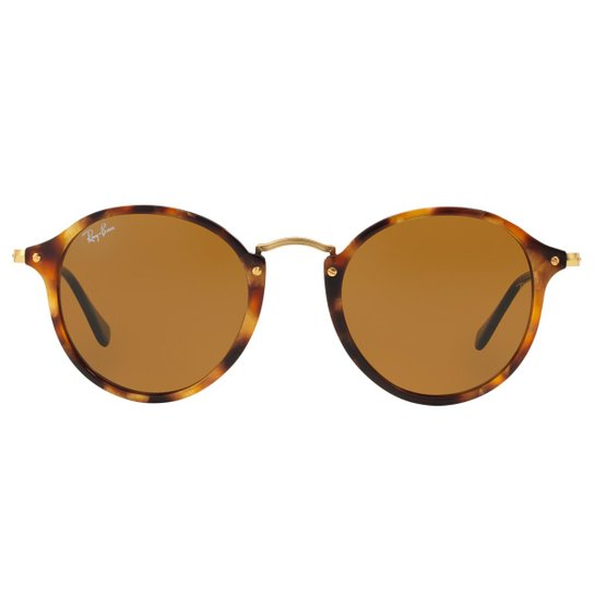 d2fc58bdb Óculos de Sol Ray-Ban Round Fleck RB2447 - Tartaruga - 1160/52 | Zattini