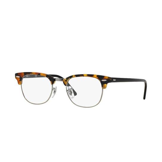 0fd88c9df Armação de Óculos Ray-Ban Clubmaster - Marrom | Zattini