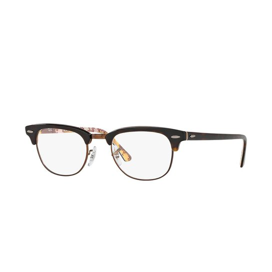 91b37a259 Armação de Óculos Ray-Ban Clubmaster Feminina | Zattini