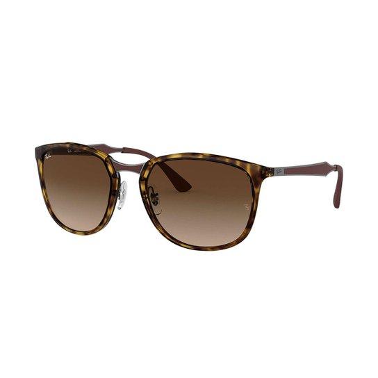 68544d50c608c Óculos de Sol Ray-Ban RB4299 Feminino - Marrom - Compre Agora