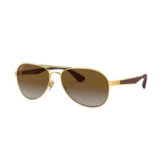 d1965c2d14ea1 Óculos de Sol Ray-Ban RB3549 Feminino - Marrom - Compre Agora   Zattini