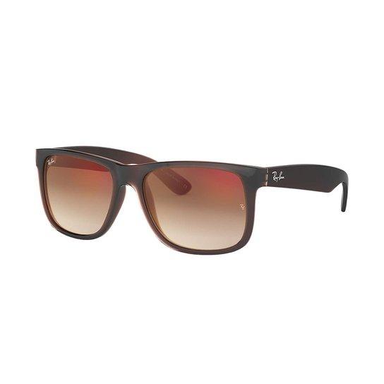 Óculos de Sol Ray-Ban Justin Masculino - Marrom - Compre Agora   Zattini 55e3ca7cca