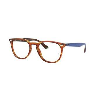 0754128b08e6d Armação de Óculos Ray-Ban RB7159 Feminina
