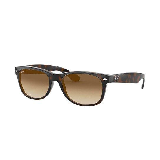 d4be6b8b5381d Óculos de Sol Ray-Ban New Wayfarer - Marrom - Compre Agora   Zattini