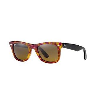 1370d1348 Óculos de Sol Ray-Ban Original Wayfarer Fleck Feminino