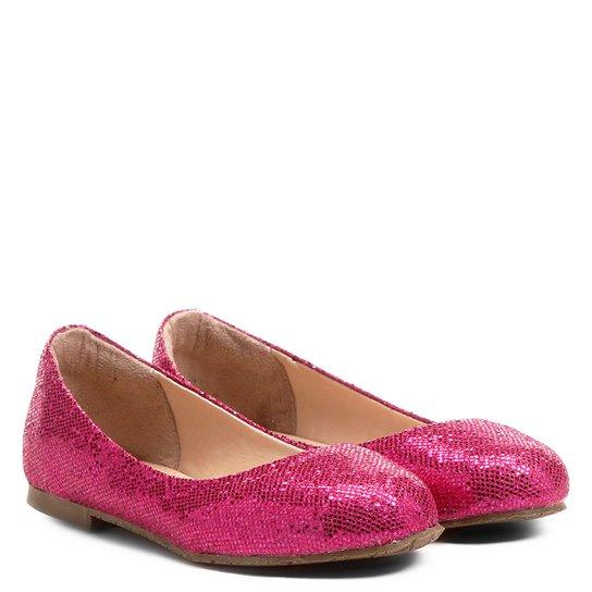 e7f8ce2fff Sapatilha Infantil Shoestock Glitter Menina - Pink - Compre Agora ...