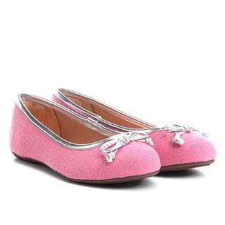 8245521294 Sapatilha Infantil Shoestock Tecido Feminina