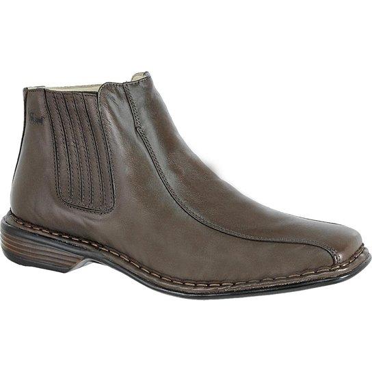 785959a6e Bota Doctor Shoes Modelo Italiano 3030 Vegetal - Compre Agora | Zattini