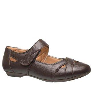 02b75a7b0 Sapatilha Couro 1298 Doctor Shoes Feminina