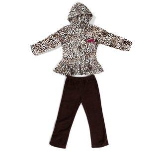 009a613e1e Conjunto Infantil Para Menina - Preto
