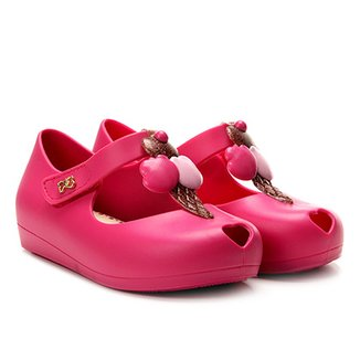 233a85815 Sapatilha Infantil World Colors Fosca Velcro Aplique Sorvete Feminina
