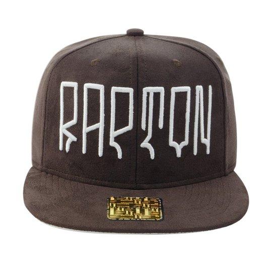 Boné Aba Reta Young Money Snapback Rapton - Marrom - Compre Agora ... 46cf434272c