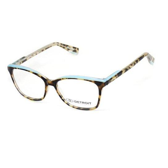 3d53ed5f409f6 Armação De Óculos De Grau Montmartre Detroit T 51 C 530 Feminino - Marrom