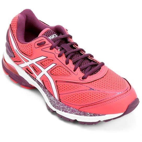 Tênis Asics Gel Pulse 8 A Feminino - Pink e Branco - Compre Agora ... b49b8a0980119
