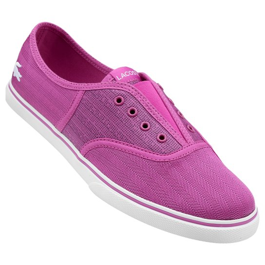 Tênis Lacoste Rene Sleek Slip Hpc - Pink e Branco - Compre Agora ... 3b808f32be