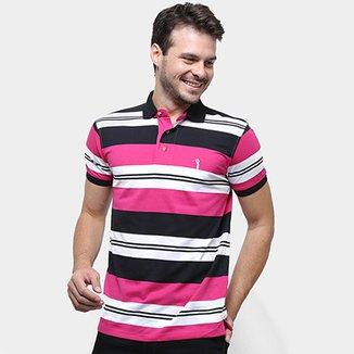 9d375bff72 Camisa Polo Aleatory Listrada Masculina