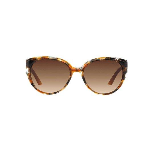 Óculos de Sol Ralph Gatinho RA5161 Feminino - Caramelo e Preto ... 463eda645c