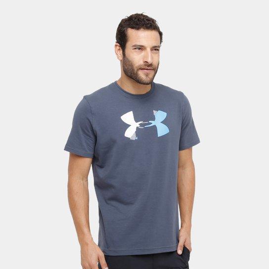 c3ba896d96836 Camiseta Under Armour Glitch Logo Masculina - Compre Agora
