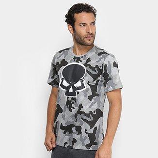 4c924425207be Camiseta Red Bull Skate Generation Camuflada Masculina