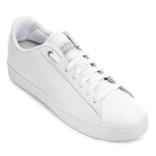 43b8afdaed1 Tênis Adidas Cf Daily Qt Clean W Feminino - Compre Agora