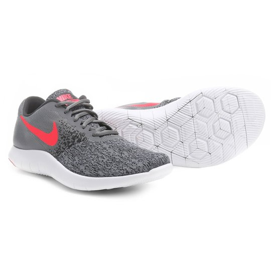 36bbde1603 Tenis Nike Flex Contact Feminino Cinza E Pink Compre Agora Zattini