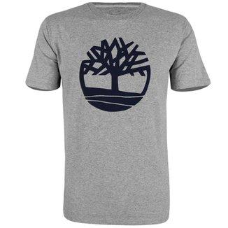 86d92bd35b444 Camiseta Timberland Kennebec RVR Tree Masculina