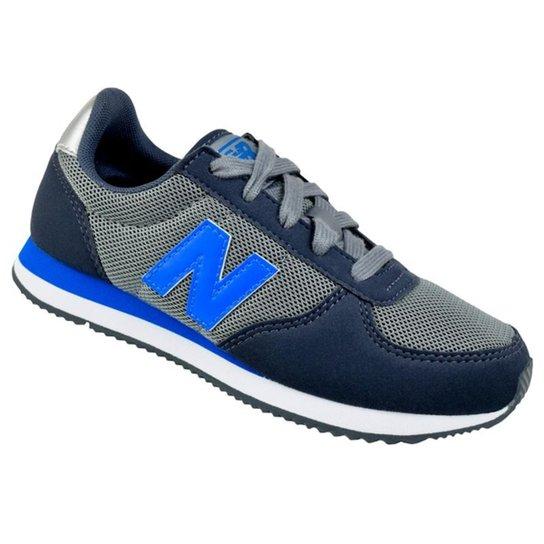 92fc144629a Tênis Infantil New Balance Masculino - Cinza e Azul - Compre Agora ...