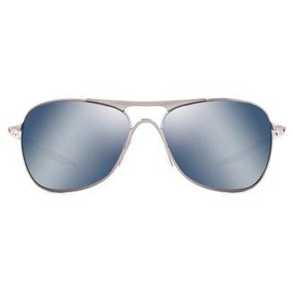 16e53cd7f0a9e Óculos de Sol Oakley Crosshair Polarizado OO4060 06-61 Masculino