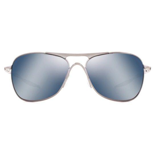 85018a13784b2 Óculos de Sol Oakley Crosshair Polarizado OO4060 06-61 Masculino - Chumbo