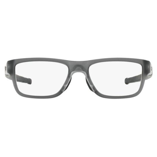 3cda3e4a47530 Armação Óculos de Grau Oakley Marshal Mnp 0OX8091 02 55 - Chumbo ...