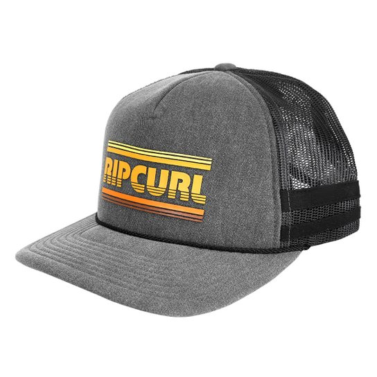 Boné Rip Curl Aba Curva Selleck Trucker Masculino - Compre Agora ... 8681f337c54