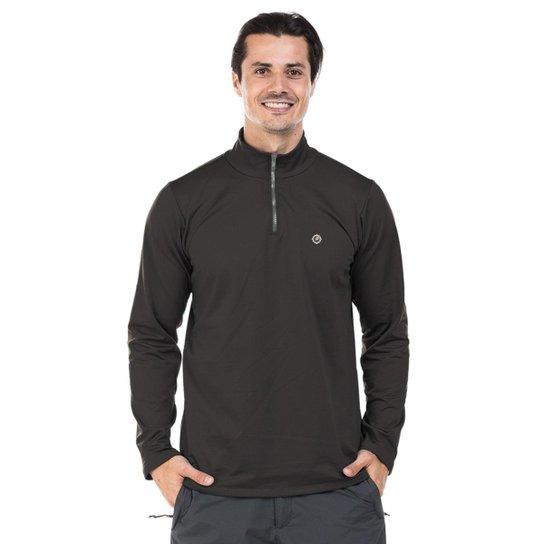 543d47a0df Camisa Térmica para Frio com Gola Alta Extreme UV - Chumbo - Compre ...