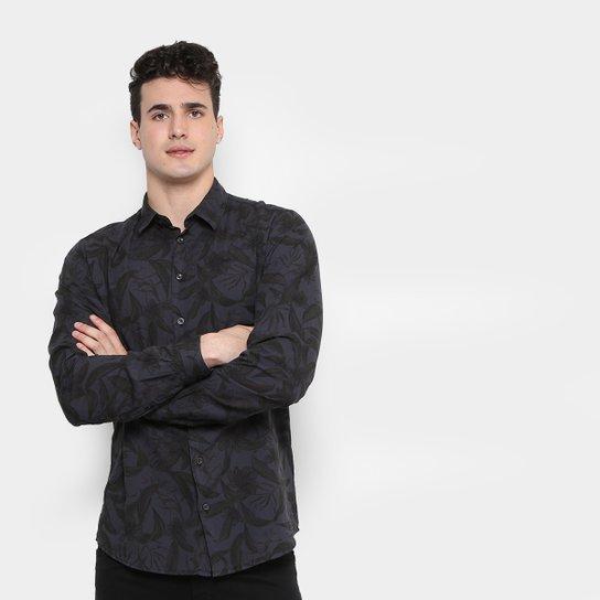 b1400c8d7 Camisa Colcci Slim Fit Floral Masculina | Zattini