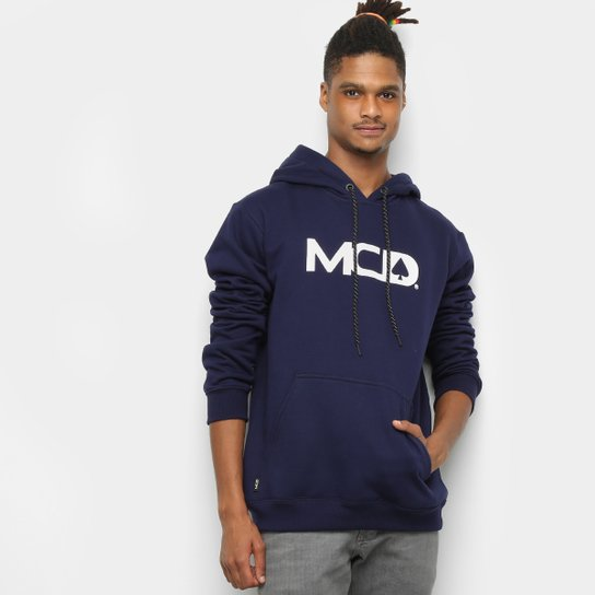 41ad96505e4cb Moletom MCD Capuz Masculino - Marinho - Compre Agora