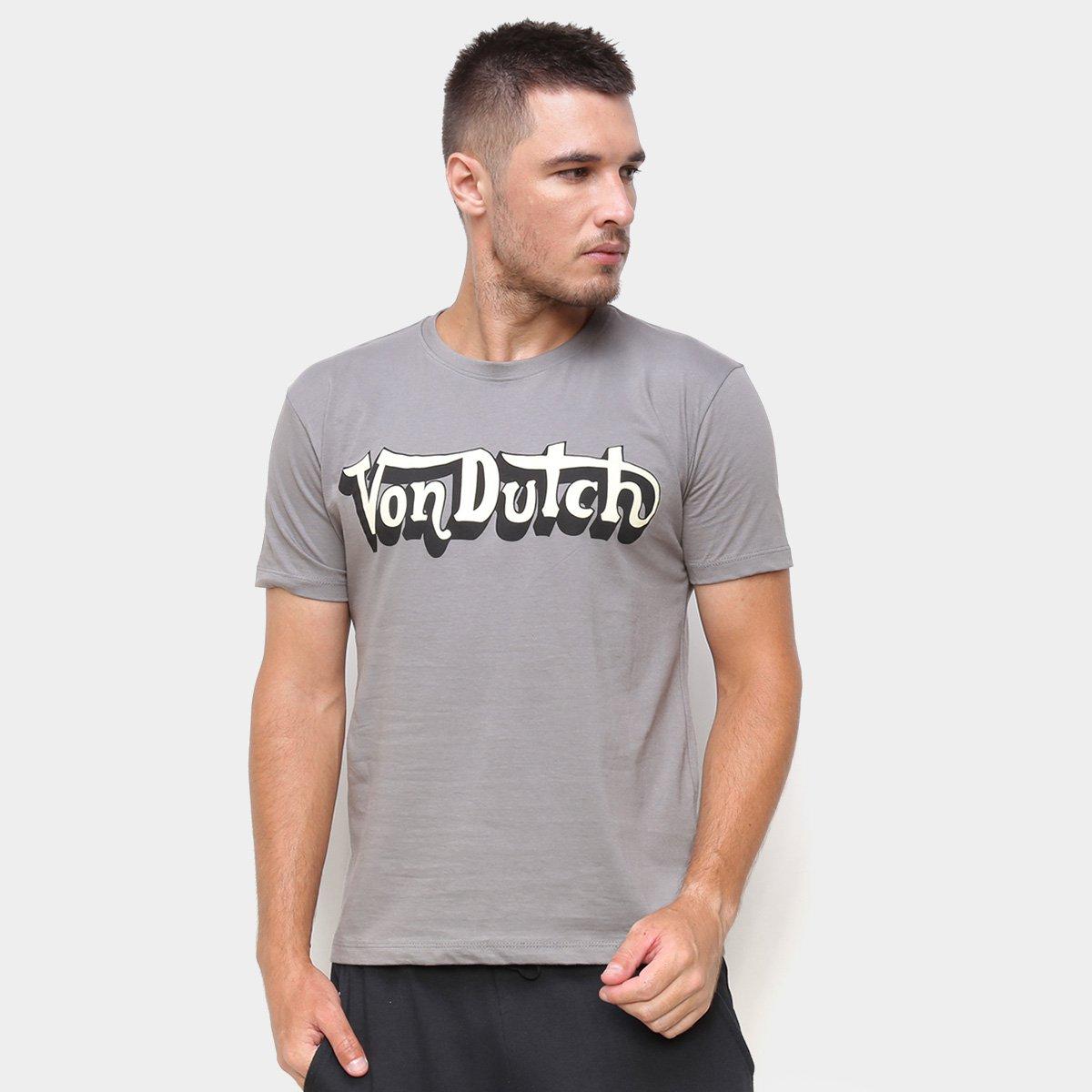 Camiseta Von Dutch Heritage Signature Masculina