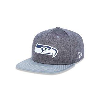 ff07c2b53fbf0 Boné 950 Original Fit Seattle Seahawks NFL Aba Reta Snapback New Era