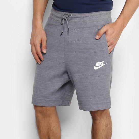 d7b1edd325 Bermuda Moletom Nike Nsw Masculina - Chumbo - Compre Agora