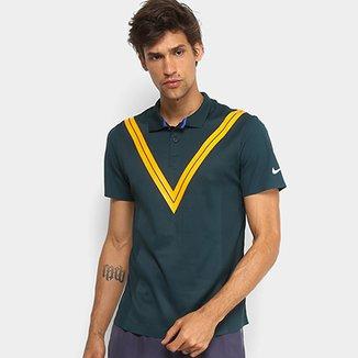 Camiseta Polo Nike NY RF Masculina eb8e621c50854