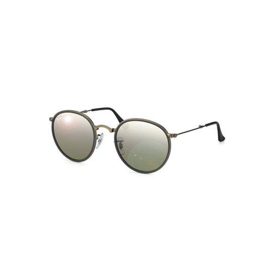 Óculos de Sol Ray Ban Round Dobrável. - Compre Agora   Zattini c09bf90aa7