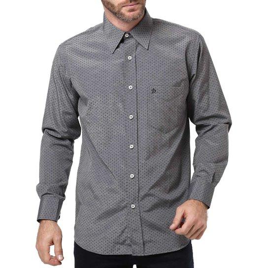 Camisa Manga Longa Masculina Di Marcus Cinza - Compre Agora  f0d9b938fc7
