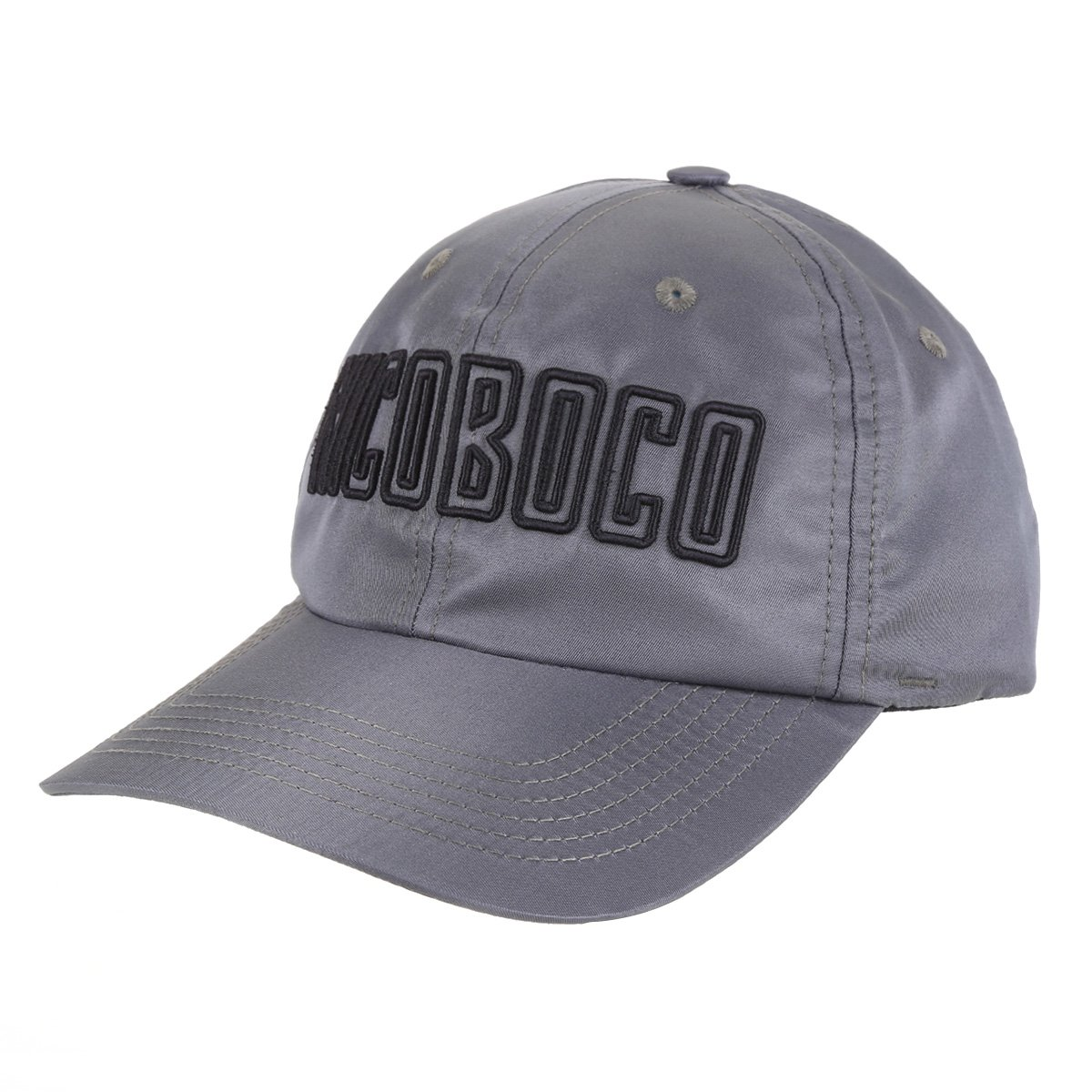 Boné Nicoboco Aba Curva Strapback Microfibra Pantanal