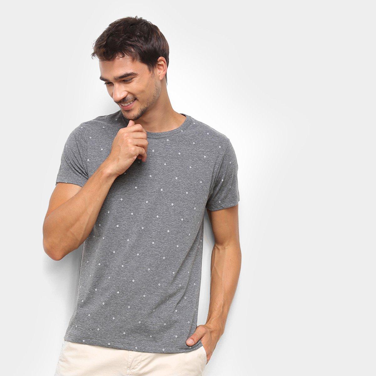 Camiseta Gajang Losango Masculina