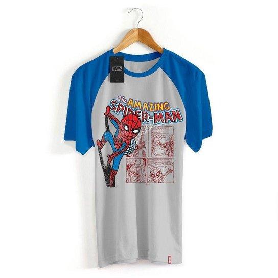 b94676a926 Camiseta Infantil Marvel Homem Aranha Cartoon - Compre Agora