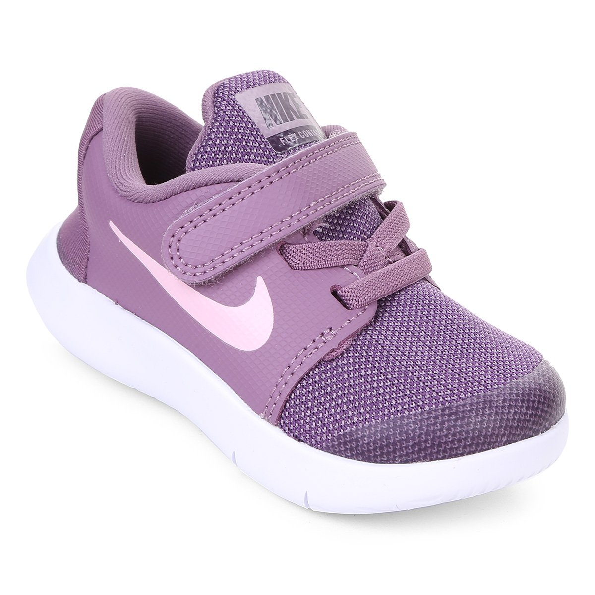 3ba8be280 Tênis Infantil Nike Flex Contact Velcro Feminino